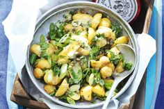 Kijk wat een lekker recept ik heb gevonden op Allerhande! Aardappelsalade met vinaigrette