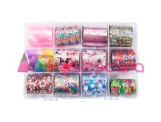 Floral Themed Transfer Foil Case Each foil design is approximately 1 meter in length. For optimal results - use in conjunction with Maskscara's Gel-iT Foil Gel! Transfer Foil, Nail Decorations, Sprinkles, Nail Art, My Love, Floral, Design, Flowers, Nail Arts