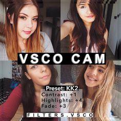 Best VSCO Filters for Selfies
