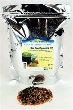Get it now Organic Birdseed -2.5 Lbs- Bird Seed Mix for Small, Medium & Large Birds- Feed for Songbirds, Parakeets, Parrots, etc.