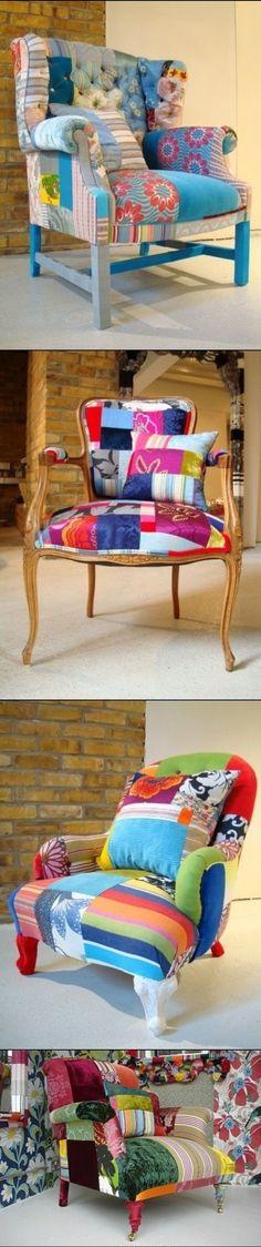 DIY Renovation of Old chair by thebigbiglemon