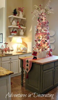 Adventures in Decorating: Christmas Whimsy in the Kitchen