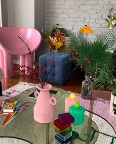 Deco Studio, Pastel Interior, Pastel Room, Pastel Decor, Pretty Room, Room Ideas Bedroom, Zen Bedroom Decor, Decor Room, Entryway Decor