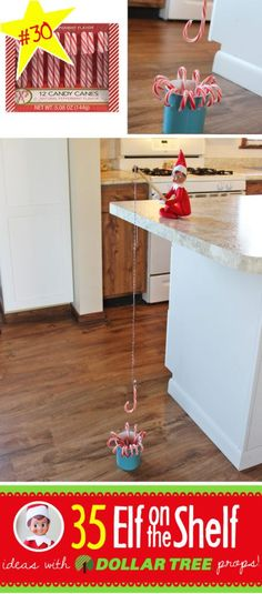 Best-New-Easy-Quick-Elf-on-the-Shelf-Ideas-Dollar-Tree-Store-Candy-Cane-451x1024.jpg 451×1,024 pixels