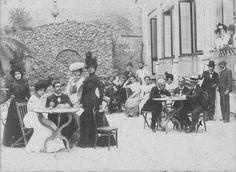 Cafe del Teatro Marti La Habana 1900.
