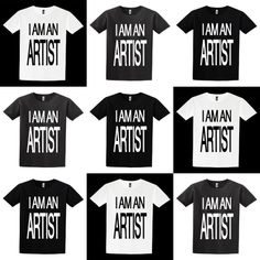 BPS Artist Series: The I AM AN ARTIST T-shirt.  Now available for pre-sale on www.shop.bypoststreet.com