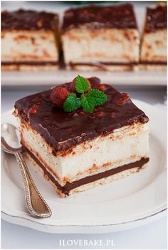 Ciasto kinder bueno bez pieczenia – I Love Bake - My CMS Freundlich, Nutella, Tiramisu, Food And Drink, Cooking Recipes, Sweets, Cookies, Baking, Eat