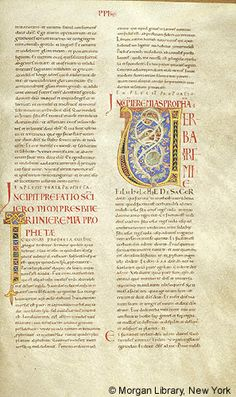 Bible, MS M.391 I, fol. 147r - Images from Medieval and Renaissance Manuscripts - The Morgan Library & Museum