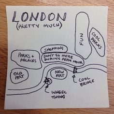 Drawing the 'Map of Every City'. — Medium