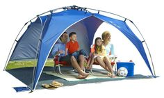 4. Lightspeed Outdoors Quick Beach Canopy Tent, Blue