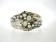 Porans Handcrafted 925 Sterling Silver Cuff Bracelet by Porans, $199.00