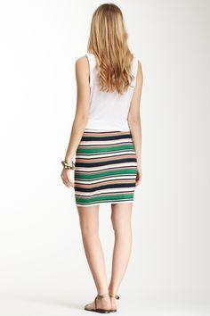 Galo Stripe Skirt