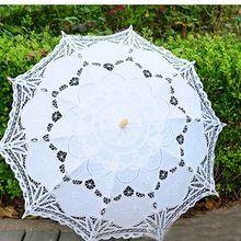 Envío Libre Del Cordón de Apertura Manual Paraguas De La Boda Accesorios De Boda Nupcial de la Ducha Nupcial Del Paraguas Del Parasol Paraguas(China (Mainland))