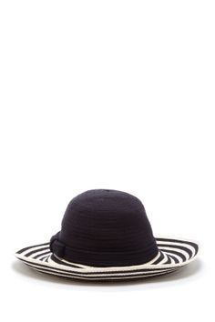 Kate Spade Paris stripe sun hat//   oui oui