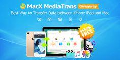 [Giveaway] Come trasferire foto musica e video tra iPhone e Mac con MacX MediaTrans Free