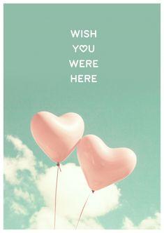 Wish You Were Here | Liebe | Echte Postkarten online versenden | MyPostcard.com