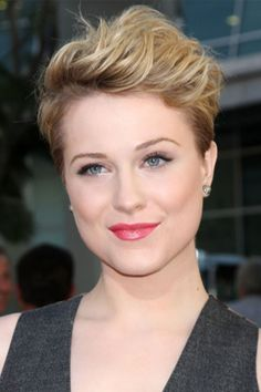 3 Fun ways to style short hair - a versatile hairstyle for a variety of face shapes (especially oval and more angular)
