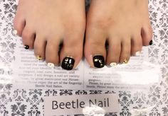 Nail Art - Beetle Nail : 八日市arte|Jrネイリスト  #arteBeetlenail #アルテビートルネイル #ビートルネイル
