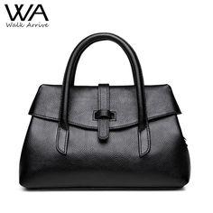 06543bdaac Walk Arrive Genuine Leather Handbag Women Shoulder Bag Brand Design Real  Leather OL Bag Cow Skin