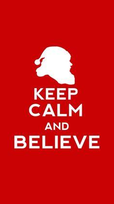 #KeepCalm and #Believe! #iPhoneretinawallpaper.com