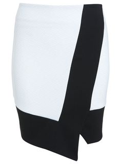 Asymmetric Wrap Skirt - Shorts & Skirts - Going Out