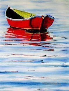 Watercolor Paintings, Watercolor Prints - Watercolorist - Natural Landscape Art - Colleen Nash Becht #LandscapeWatercolor #LandscapeOleo #LandscapingWatercolor