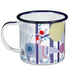 brSize - 3 diameter x 3 highbrStainless Steel Rimbr Important brNot for  microwave usebrEnamel mug. 3b9c577c73a