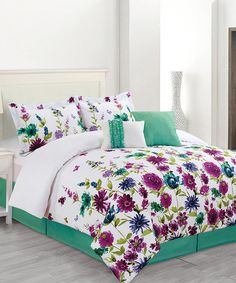 Look at this Bloomfield Comforter Set on #zulily today!
