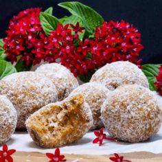 Mango and Almond Protein Fudge Balls Serves 10 ½ cup rolled oats ½ cup almonds ½ cup whey protein isolate powder (available in our online store) ½ cup dried Whey Protein Isolate, Protein Ball, Rolled Oats, Fudge, Almond, Mango, Muffin, Nutrition, Weight Loss
