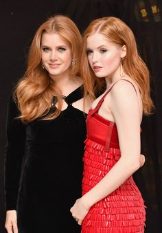 Amy Adams e Ellie Bamber  (Foto: Getty Images for BFI)