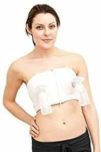 c62b6ec2911f3 Simple Wishes Hands-Free Breast Pump Bra – Pink – X-Small