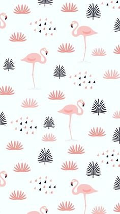 genthiii, this wallpaper is beautiful. the fashion now of flamingos that is the face of summer - -