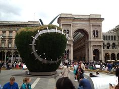 Expo 2015 - Michelangelo Pistoletto - Third Paradise - The Reinstated Apple…