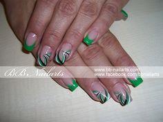 Green Eyecatchers by darkling - Nail Art Gallery nailartgallery.nailsmag.com by Nails Magazine www.nailsmag.com #nailart