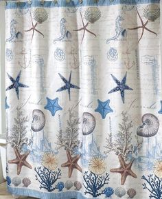 Antigua Nautical Shower Curtain