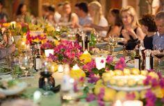 Amazing Dinner Party at Paolino Lemontrees Restaurant in Capri Capri Island, Restaurant, Events, Table Decorations, Dinner, Amazing, Party, Wedding, Home Decor