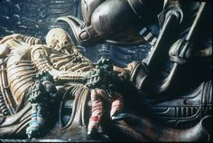 """H.R. Giger : """"There is hope and a kind of beauty in there somewhere, if you look for it."""" - Alien ('79)"""
