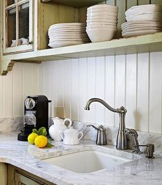 Believe it or not, a kitchen is more than appliances, cabinets and countertops. While those are the elements that serve the greatest function, there are a host of details that bring everything in the room together, like sinks, lighting, and of course, the backsplash. A kitchen backsplash does actually have a function as well— to provide an easy-to-clean surface to wipe up cooking splatters and spills. But the backsplash is a place you can be creative, and add color and unique style to your…