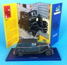 Voiture Tintin Atlas Moulinsart 1//43 38 Limousine Lotus Bleu