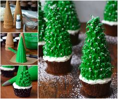 Christmas-Tree-Chocolate-Cupcakes-wonderfuldiy-.jpg (770×651)