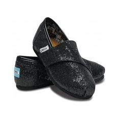 $29.36!! Toms Glitter For Women Black Breathable