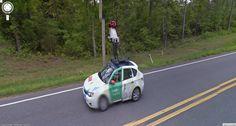 Google Street View captures Google Street View