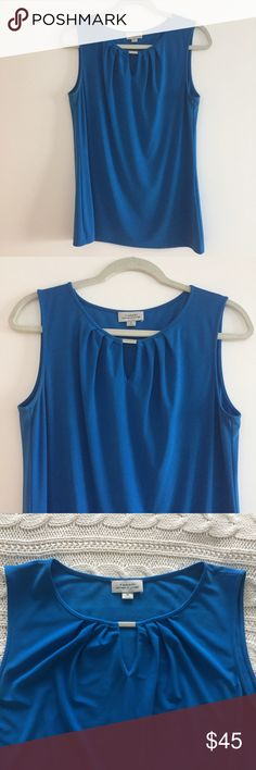 Tahari Tank Top Great tank top for work! Worn a few times but in great condition. Tahari Tops Blouses