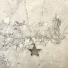 Single Star Necklace by TomShot