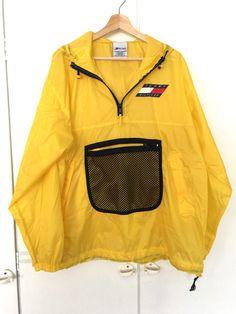 Fall Wardrobe, Retail Price, Tommy Hilfiger, Rain Jacket, Windbreaker, Autumn, Yellow, Sweaters, Jackets