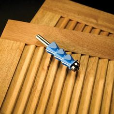 Rockler Louver Router Bit: Bird-Beak Shelves!