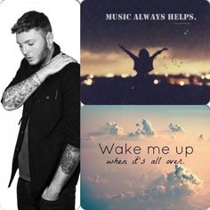 James arthur wake me up and music