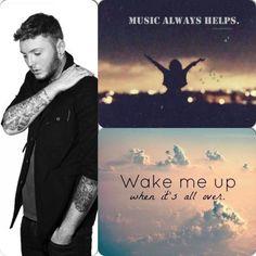 James arthur wake me up and music