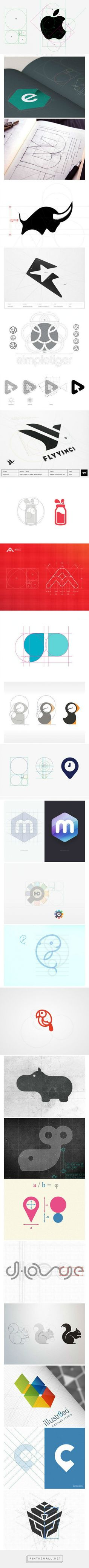 Grids in logos