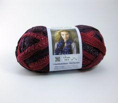 Boutique Sashay Yarn by Red Heart: Tango by PurpleOkapiStudio, $4.75